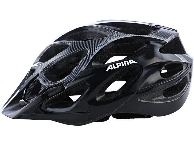 Alpina Mythos 2.0 Kask rowerowy, black-white lines